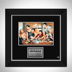 Friends Cast Photo Limited Signature Edition Studio Licensed Custom Frame