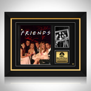 Friends- TV Show Script Limited Signature Edition Custom Frame