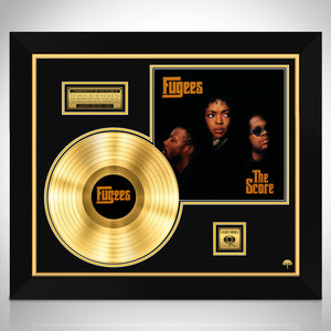 Fugees 'The Score'- Limited Collectors' Edition Studio Licensed Gold Lp Custom Frame