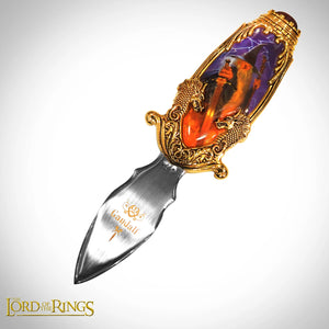 Franklin Mint Lord of the Rings Gandalf Collector's Pocket Knife
