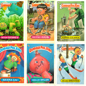 Garbage Pail Kids- Frame A- 64 Cards Original Gen 1 Series 1985-1988 Rare-T Exclusive Custom Frame