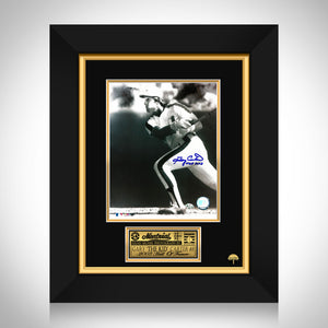 "Gary ""The Kid"" Carter- 'Montreal Expos' Hand-Signed Photo By Gary Carter Custom Frame"