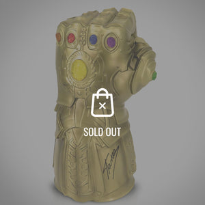 Thanos - Hand-Signed Thanos Infinity Gauntlet Limited Edition Bust Bank