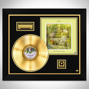 Genesis- Selling England by the Pound Limited Collector Edition Studio Licensed Gold LP Custom Frame