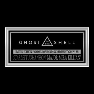Scarlet Johansson Ghost in the Shell Limited Signature Edition Studio Licensed Photo Custom Frame