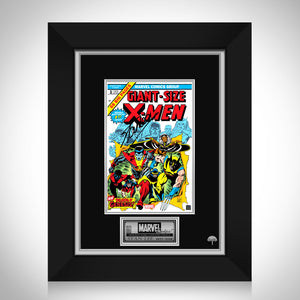 Giant Size X-Men #1 - Stan Lee Limited Signature Edition Comic Book Cover Art Custom Frame