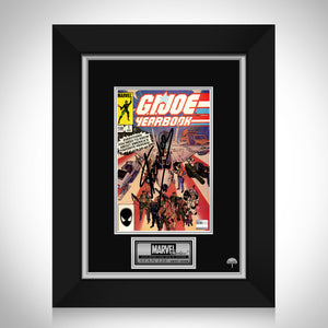 G.I. Joe Yearbook (1985) #1 Hand-Signed Comic Book By Stan Lee