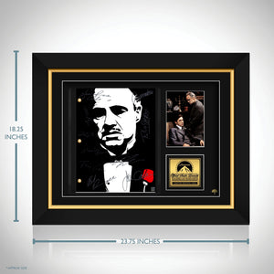 The Godfather Script Limited Signature Edition Studio Licensed Custom Frame