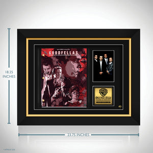 Goodfellas Movie Script Limited Signature Edition Studio Licensed Custom Frame