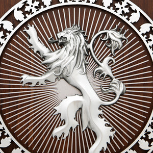 Game Of Thrones - Lannister Wood & Metal Crest