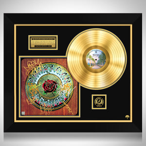 Grateful Dead American Beauty Gold LP Limited Signature Edition Studio Licensed Custom Frame