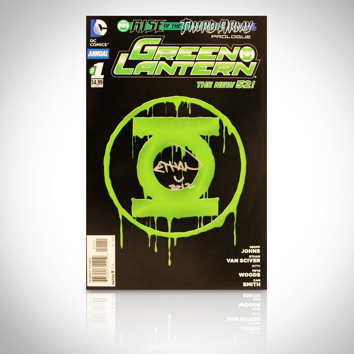 'GREEN LANTERN #1 - HANDSIGNED BY ETHAN VAN SCIVER' Comic Book