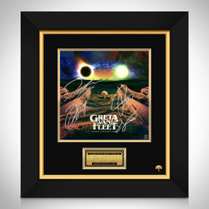 Greta Van Fleet - Anthem Of The Peaceful Arms Limited Signature Edition Studio Licensed LP Cover Custom Frame