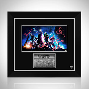 Guardians Of The Galaxy- Limited Signature Edition Photo Custom Frame