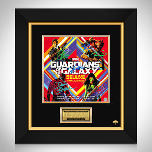 Guardians of the Galaxy Soundtrack Limited Signature Edition Studio Licensed LP Cover Custom Frame