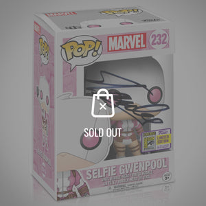 GWENPOOL SELFIE SDCC Hot Topic Exclusive Pop Handsigned By Stan Lee