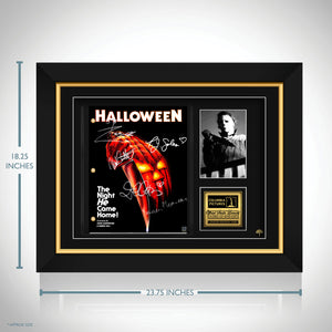 Halloween Movie Script Limited Signature Edition Studio Licensed Custom Frame