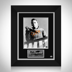 Halloween Michael Myers Movie Photo Limited Signature Edition Studio Licensed Custom Frame