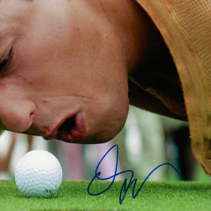 Happy Gilmore- Beckett Certified Hand-Signed Photo By Adam Sandler Custom Frame