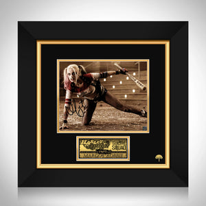 Harley Quinn - Suicide Squad Limited Signature Edition Studio Licensed Photo Custom Frame