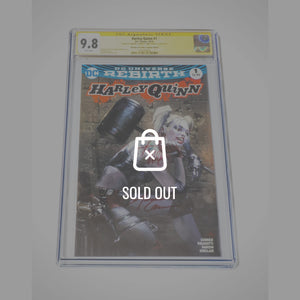 Cgc Signature Edition 'Harley Quinn #1-9.8 Handsigned By Amanda Conner & Jimmy Palmiotti'