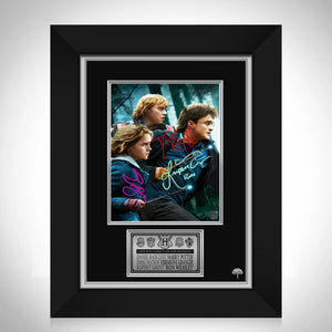 Harry Potter and the Deathly Hallows Photo Limited Signature Edition Studio Licensed Custom Frame
