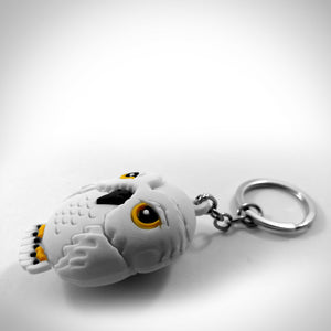 Harry Potter 'Hedwig' XL 3D Collectible Rubber Keychain