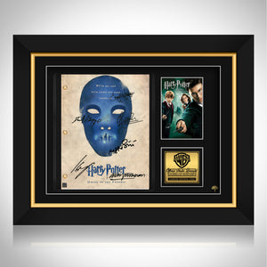 Harry Potter Order of the Phoenix  Limited Signature Edition Studio Licensed Script Custom Frame