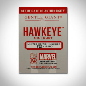 Hawkeye- Holding Bow And Arrow Vintage 2012 Gentle Giant Limited Edition Bust Statue