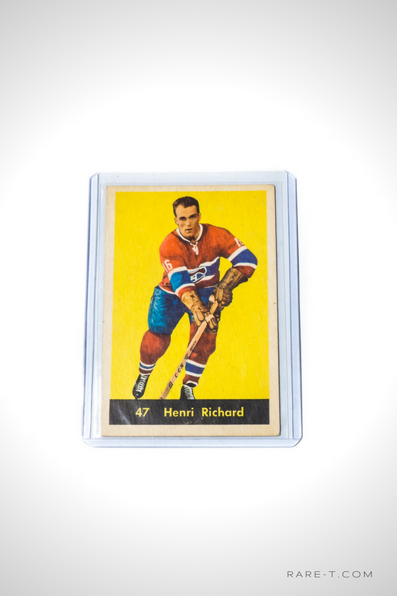 1960 Hockey Card 'PARKHURST - HENRI RICHARD'