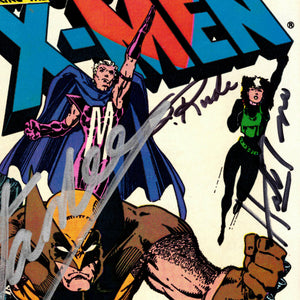 X-Men Heroes For Hope #1 Hand-Signed Comic Book by Famous Artists, Editor & Stan Lee Custom Frame