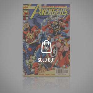 'AVENGERS HEROES RETURN #1 - HANDSIGNED BY George Perez' Comic Book
