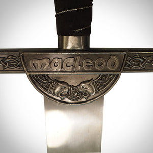 Highlander Longsword Connor Macleod Life size Replica Guard close up