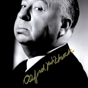 Alfred Hitchcock- Hand-Signed Alfred Hitchcock Presents Photo By Alfred Hitchcock Custom Frame