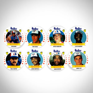 Montreal Expos & Toronto Blue Jays 1988 Vintage Hostess Set of 24 Baseball Cards