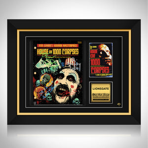 House of 1000 Corpses Script Limited Signature Edition Studio Licensed Custom Frame