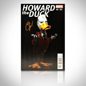 'HOWARD THE DUCK #1 - HANDSIGNED BY CHIP ZDARSKY' Comic Book