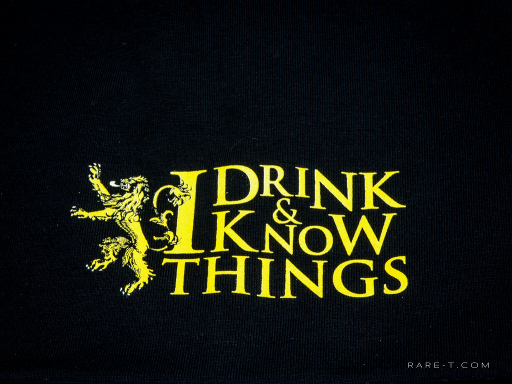 Game Of Thrones I Drink I Know Things Beaniehat