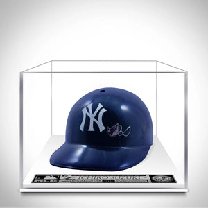 Ichiro Suzuki- 'New York Yankees' Hand-Signed Batter Baseball Helmet Custom Museum Display