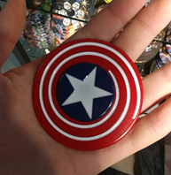 CAPTAIN AMERICA - CREST LOGO Metal Spinner