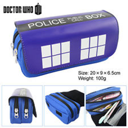 DR.WHO - TARDIS LOGO Cosmetic/Pen Bag