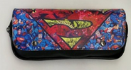 Superman Cosmetic/Pen Bag