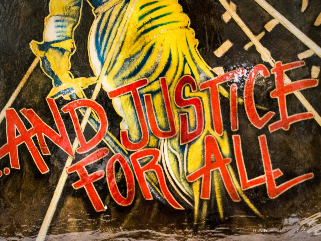 Metallica And Justice For All Rare T Exclusive Painting Rare T