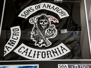 RARE-T Exclusive 'JAX SIGNED/SONS OF ANARCHY VEST' Custom Frame