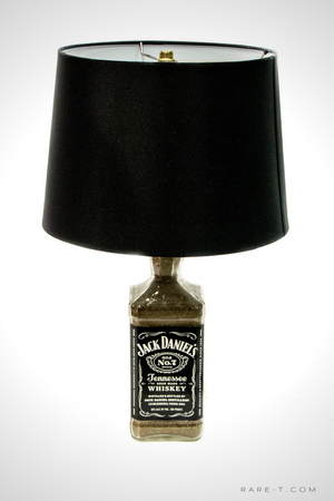 Handmade Bottle Lamp - JACK DANIEL'S WHISKEY Product Image - RARE-T