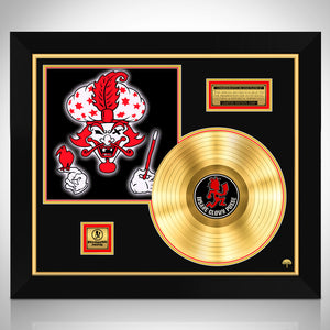 Insane Clown Posse 'The Great Milenko' Limited Collectors' Edition Licensed Gold Lp Custom Frame