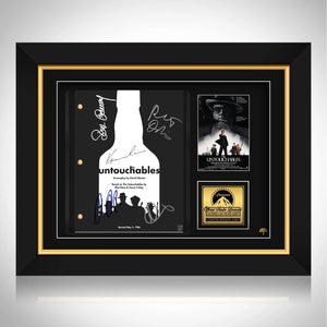 The Untouchables Script Limited Signature Edition Studio Licensed Custom Frame
