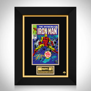 Invincible Iron Man #1 - Stan Lee Limited Signature Edition Comic Book Cover Art Custom Frame