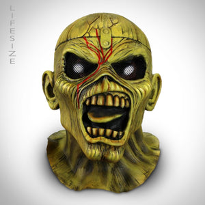 Iron Maiden- Piece of Mind 'Eddie' Premium Latex Mask