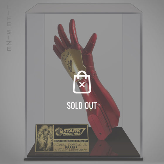 RARE-T Exclusive Limited Edition 'IRON MAN - SCRIPT' Custom Frame